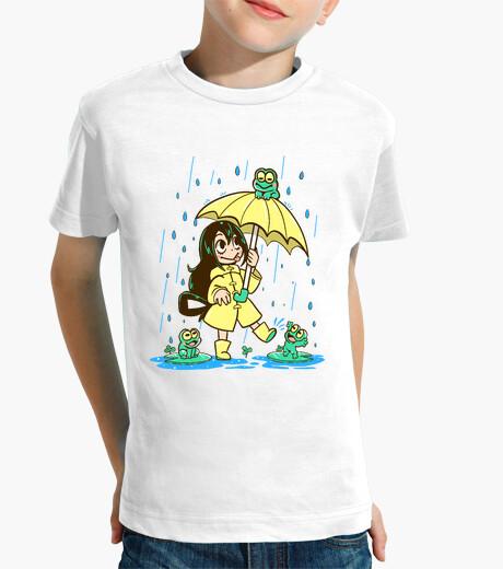 Ropa infantil la mejor muchacha de la rana - camisa de los niños