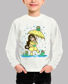 la mejor muchacha de la rana - camisa de los niños