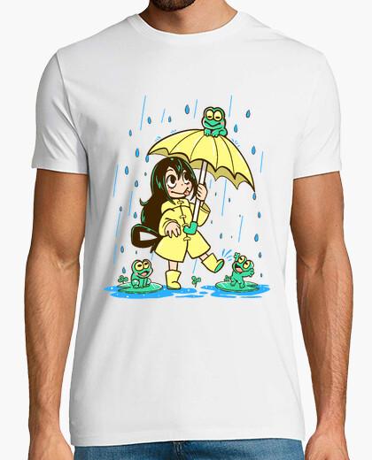 Camiseta la mejor muchacha de la rana - camisa para hombre