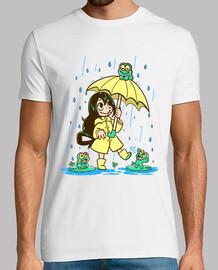 la mejor muchacha de la rana - camisa para hombre
