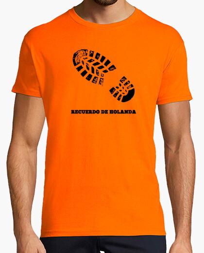 Tee-shirt la mémoire de la hollande girl