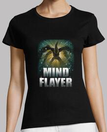 la mente flayer camisa para mujer