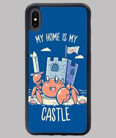la mia casa è il mio castello - la custodia per iphone