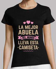la migliore nonna del mondo indossa questa t-shirt