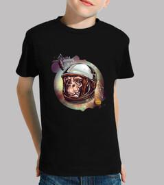 la monkey astronauta