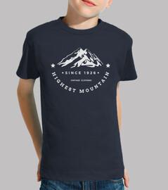 la montaña más alta
