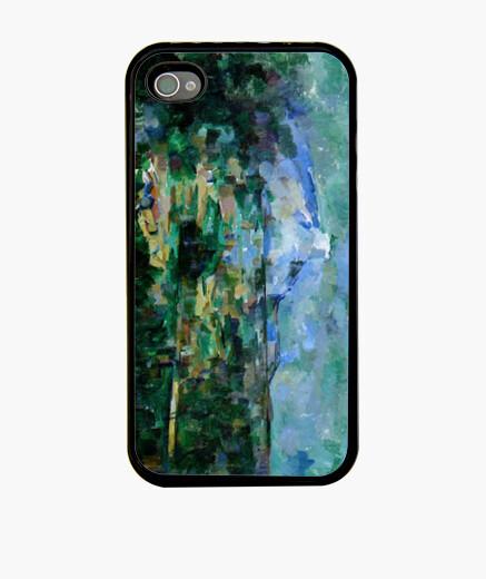 Funda iPhone La montaña Sainte-Victoire... - Cézanne
