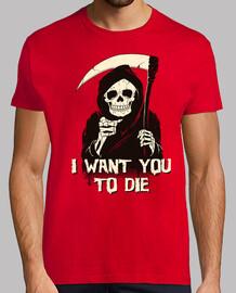 la mort vous a choisi chemise hommes
