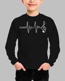 la musica è la mia Heartb eat