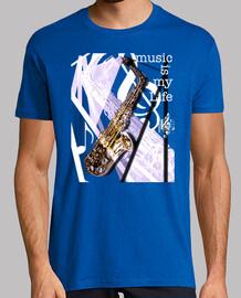 la musica è la mia vita - il sassofono