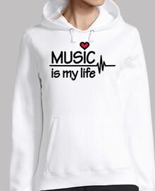 la musica es el corazon de mi vida