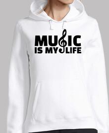 la música es mi vida