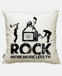la musica rock più meno tv