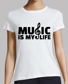 la musique c'est ma vie
