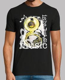 la musique est ma vie - tuba
