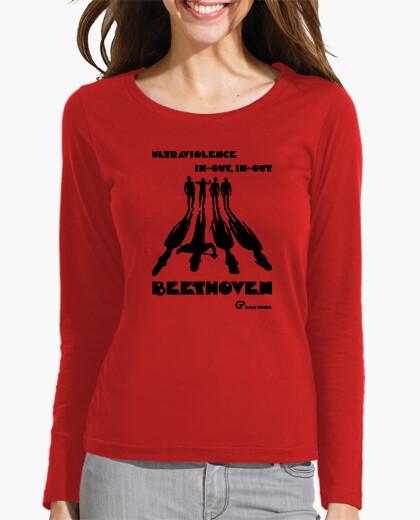 Camiseta La Naranaja Mecánica (negro)