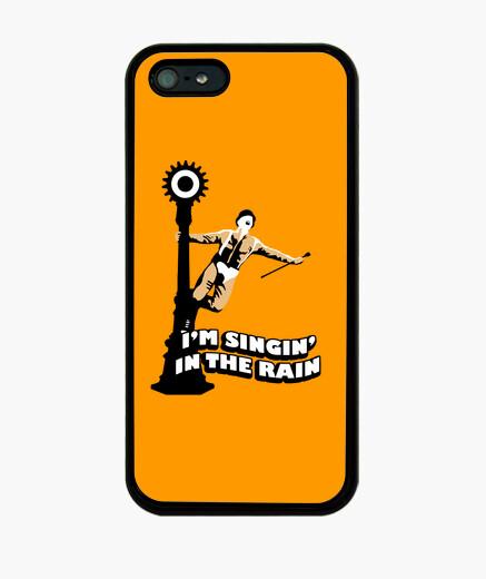 Funda iPhone La naranja mecánica cantando bajo la llu