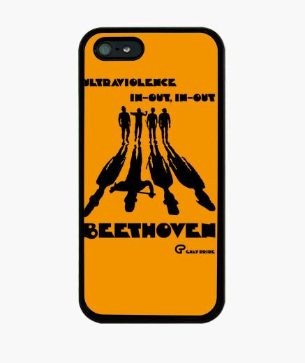 Funda iPhone La Naranja Mecánica (negro)