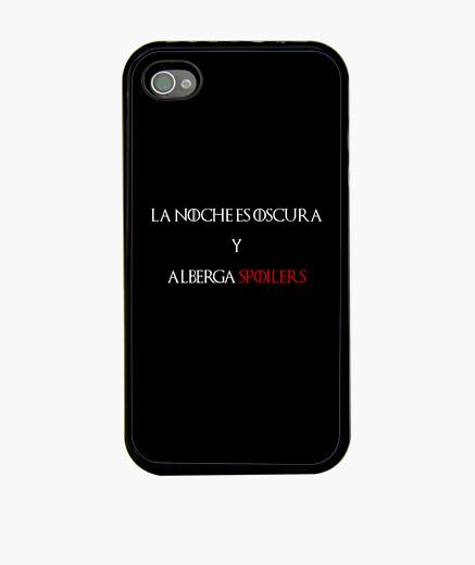 Funda iPhone La noche es oscura y alberga SPOILERS
