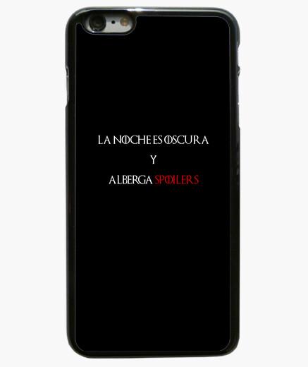Funda iPhone 6 Plus / 6S Plus La noche es oscura y alberga SPOILERS