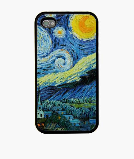 Funda iPhone La noche estrellada.