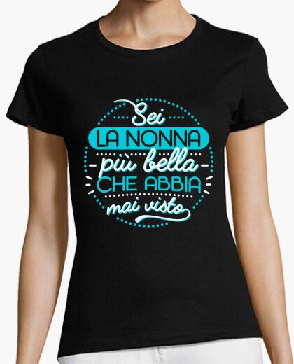 T-shirt La nonna più bella