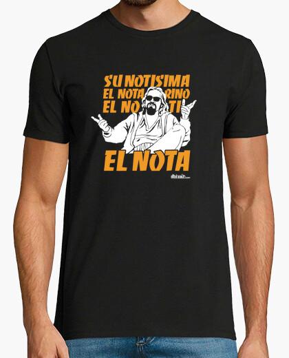 T-shirt la nota (il grande lebowski)