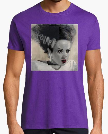 La novia de Frankestein cine Horror terror retro Camisetas frikis