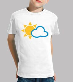 la nube del sol