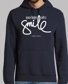la paix commence avec un sourire (noir)