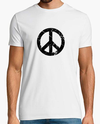 Tee-shirt la paix grunge