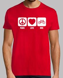 la paix, l' amour and le vélo