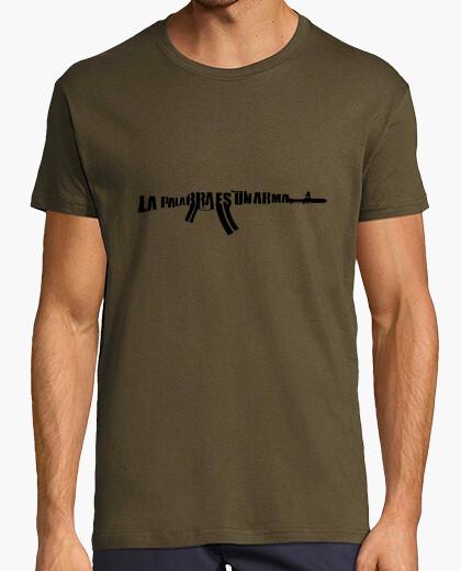 Camiseta La palabra es un arma