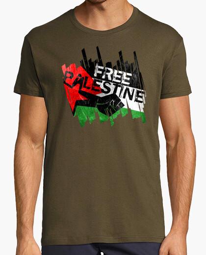 Tee-shirt la palestine libre