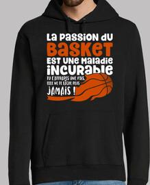 la pasión por el baloncesto