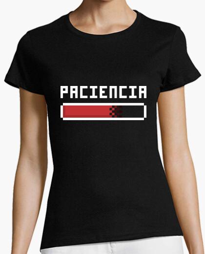 T-shirt la pazienza (donna)