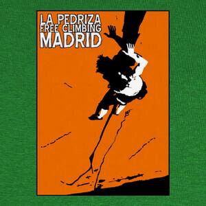T-shirt LA PEDRIZA FREE CLIMBING MADRID