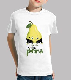 La pera - camiseta niño