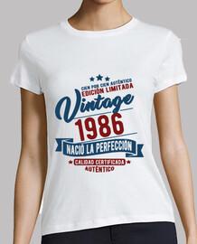 La perfezione del 1986 è nació