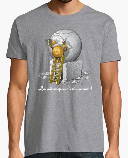 Camiseta ¡la petanca es un arte!