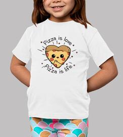 la pizza è amore la pizza è vita