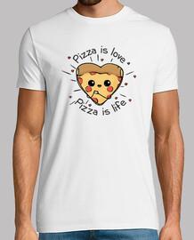 la pizza es amor la pizza es la vida