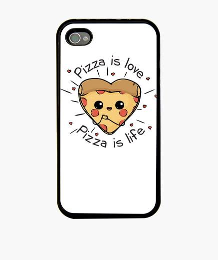 Funda iPhone la pizza es la pizza del amor es la vid
