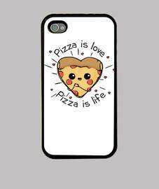 la pizza es la pizza del amor es la vid