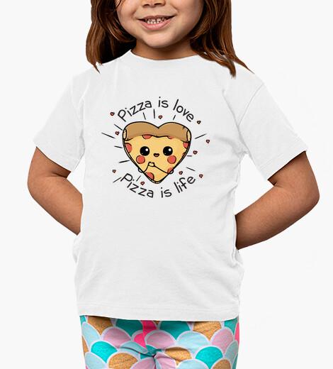 Ropa infantil la pizza es la pizza del amor es la vid