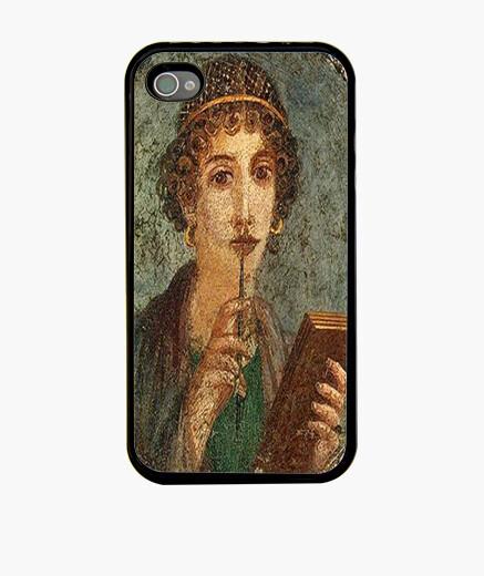 Funda iPhone La poetisa de Pompeya - Anónimo