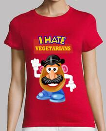 la pomme de terre déteste végétariens