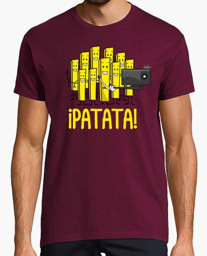 Tee-shirt la pomme de terre selfie