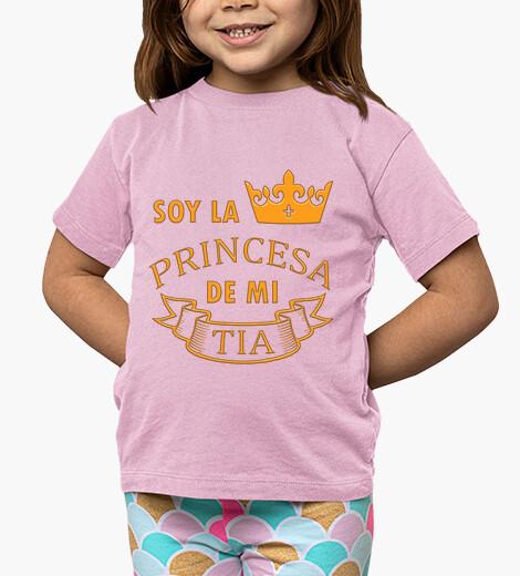 Ropa infantil La Princesa de mi Tia niña