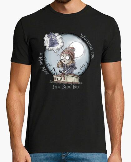 T-shirt la ragazza che aspettava